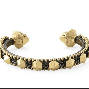 Stella and Dot lion head stud cuff